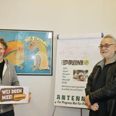 Antenna voor Fair Trade Gemeente Nijmegen