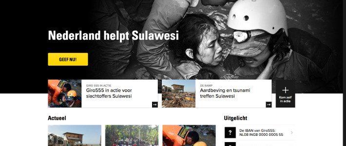Nederland helpt Sulawesi