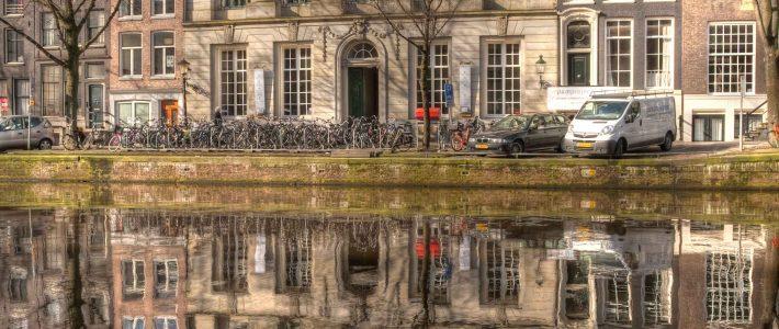 Andrew Keen geroosterd in Amsterdam