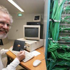 WWW server of Greenpeace in 1992