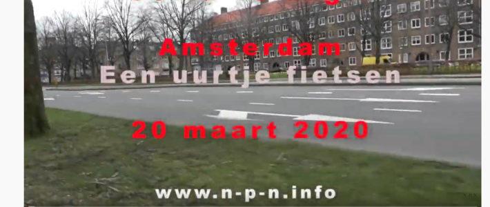 Dagelijks beeldjournaal COVID-19 Amsterdam